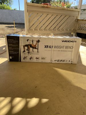 Weirder XR 6.1 weight Bench for Sale in Los Angeles, CA