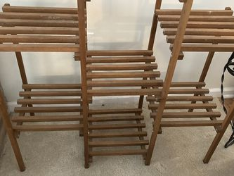 Wooden Plant Stand for Sale in Streetsboro,  OH