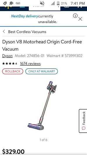Dyson vacuum v8 for Sale in Garland, TX