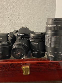 Canon Rebel T7 Package Deal for Sale in Peyton,  CO