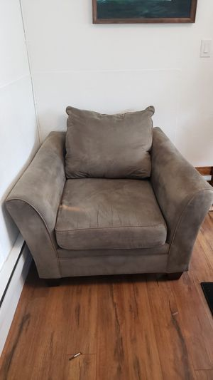 Couch and matching chair for Sale in Seattle, WA