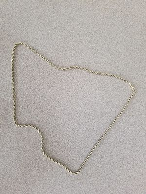 Gold rope chain 12.4 g. Brand new clasp, i just bought a new bigger chain for Sale in Zephyrhills, FL