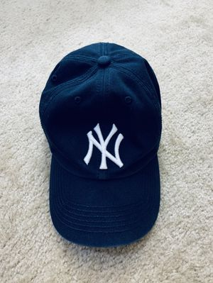 MLB New York Yankees 47 Brand Navy Baseball Cap Hat Fitted Mens Large for Sale in Falls Church, VA