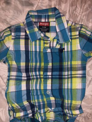 Wrangler baby shirt for Sale in Reedley, CA