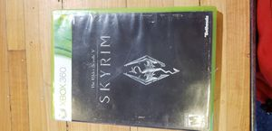 Skyrim xbox 360 for Sale in Tucson, AZ