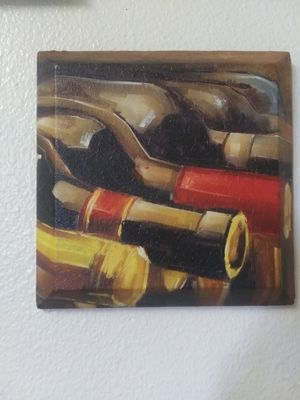 Small Wine Theme Wall Art for Sale in Fresno, CA
