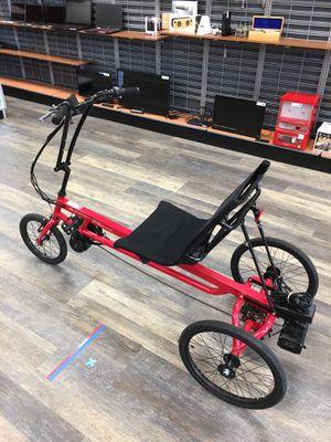Sun Seeker Electric Motorized Bike e48 Delta SX E-Trike Bicycle - 30 MPH for Sale in Lynn, MA