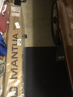 Mantua brand TWIN BED FRAME never used, new still in box and plastic. Bought for $47 . Didn't need it. for Sale in Sacramento, CA
