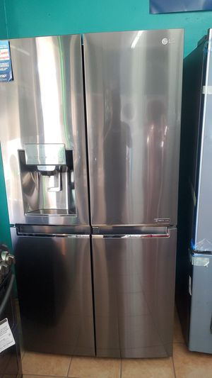 Lg refrigerator stainless for Sale in Hawthorne, CA