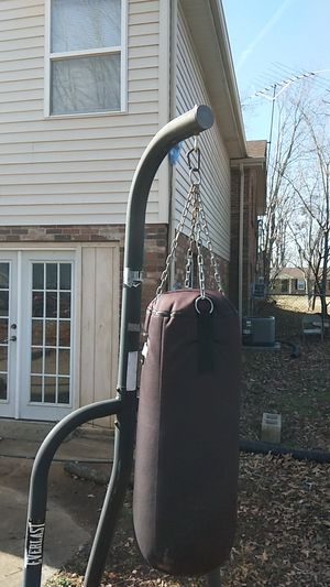 Punching bag and stand for Sale in Clarksville, TN