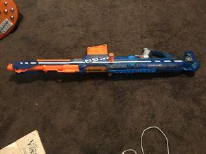 Mega nerf gun uses mega bullets 15$ for Sale in Kennewick, WA