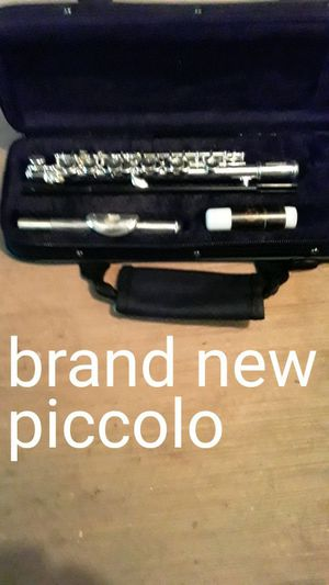 Brand new piccolo and case for Sale in Mt. Juliet, TN