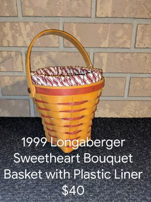 1999 Longaberger Sweetheart Bouquet for Sale in Orange City, FL