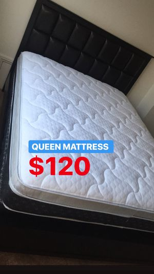 BRAND NEW PILLOW TOP MATTRESSES💯 COLCHONES NUEVOS PILLOW TOP 💯 Queen $120 ❌ $180 With Box Spring 💥💥 FULL SIZE $100 ❌ $150 With Box Spring💥 Twin $8 for Sale in Los Angeles, CA