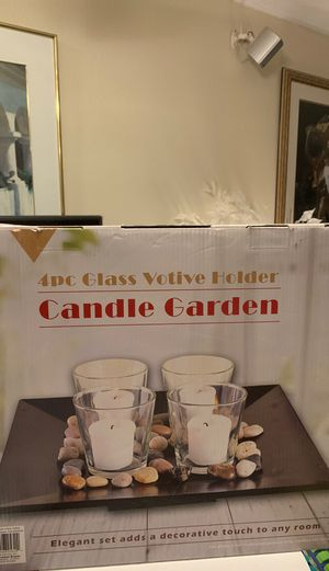 Candle Garden 4 pieces Glass Votive Holder for Sale in El Cajon, CA