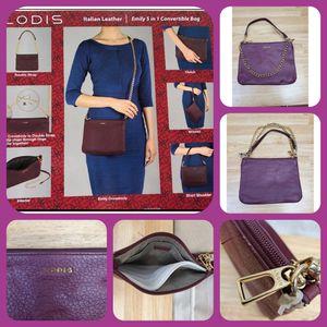 Lodis Emily 5-In-1Italian Lather Convertible Bag for Sale in Phoenix, AZ