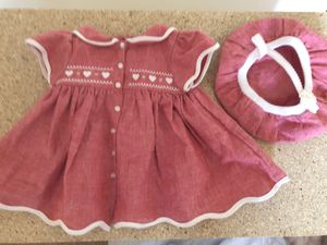 American girl doll dress with hat for Sale in Mesa, AZ