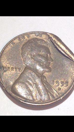 HUGE Lamination Peel 1955S Error Wheat Penny- Harder To Find Error Type, Super Unusual! for Sale in Fairfax, VA