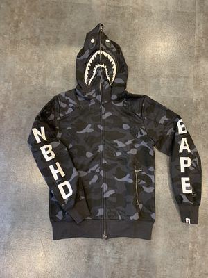 Bape x nbhd jacket size L fits M for Sale in Beverly Hills, CA
