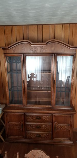 Antique China cabinet for Sale in Everett, MA
