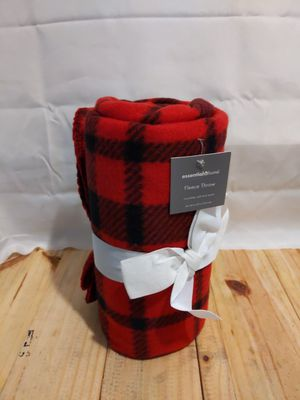 Essential home fleece throw for Sale in Williamsport, PA