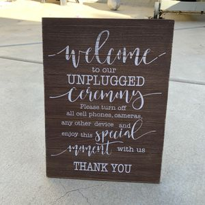 Wedding Sign for Sale in Escondido, CA