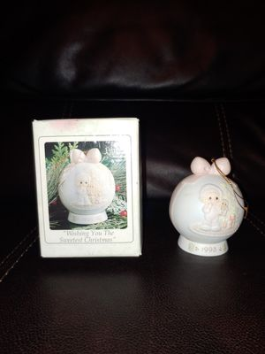 Precious Moments Ornament 530190 MIB Wishing You The Sweetest Christmas for Sale in Hawthorne, CA