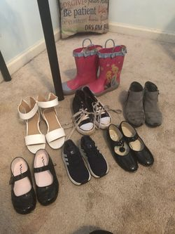 Kid shoes any pair $5 for Sale in Acworth,  GA