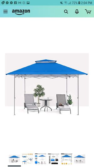 ABCCANOPY 13x13 Canopy Tent Instant Shelter Pop Up Canopy 169 sq.ft Outdoor Sun Shade, Royal Blue for Sale in Phoenix, AZ