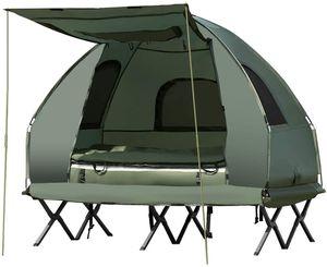 Camping Tent & Air Mattress for 2 for Sale in Etiwanda, CA
