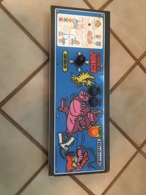 Donkey Kong jr arcade game control panel complete for Sale in Glenview, IL
