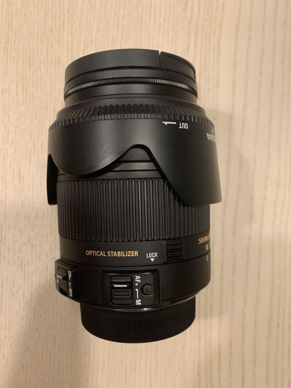Sigma Lens 18-250mm for Nikon