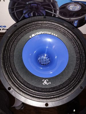 2 Pair of SoundStream 6.5. 2 way pro audio speakers for Sale in WARRENSVL HTS, OH
