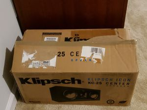 Klipsch Icon center speaker for Sale in Raleigh, NC