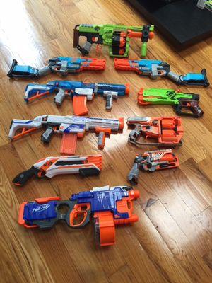 Nerf guns for sale for Sale in Hoboken, NJ