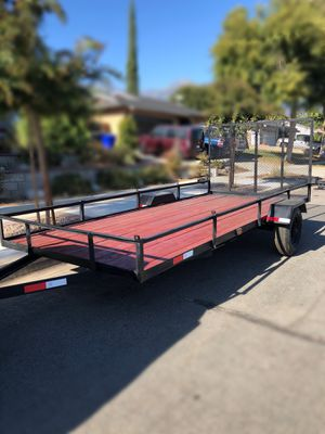 14x6 Utility Trailer 14 ft x 6 ft for Sale in Alta Loma, CA