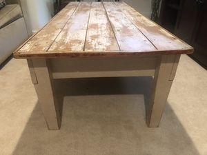 Large rustic coffee table for Sale in Silver Spring, MD