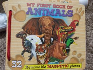 Animals book. Removable Magnetic pieces for Sale in Las Vegas, NV
