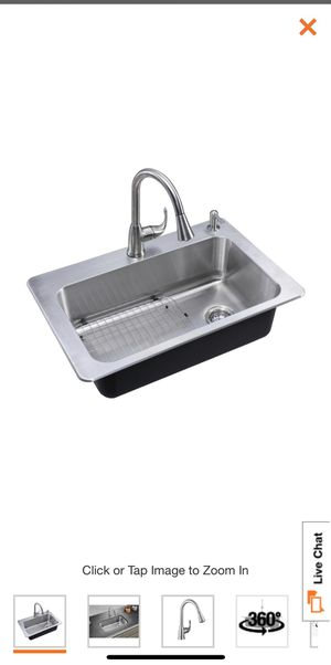 Glacier Bay Kitchen Sink for Sale in Long Beach, CA