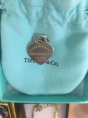 """Tiffany & Co. """"Please Return To"""" Heart Charm for Sale in Rochester, MI"""