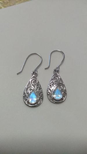 Stirling Silver Moonstone Earrings for Sale in Las Vegas, NV