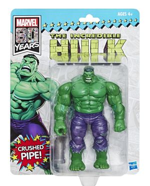 2019 SDCC San Diego Comic-Con Exclusive Marvel Legends 80 Years The INCREDIBLE HULK Action Figure by Hasbro Limited Edition Retro Vintage Green Toy for Sale in San Diego, CA