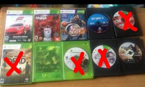Selling Xbox games and movies asap $7/piece for Sale in Atlanta, GA