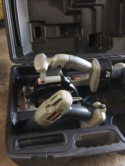 Craftsman 18v Tools- no battery charger! for Sale in Chesapeake,  VA