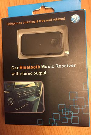 Car Bluetooth music receiver will stereo output 3.0 new for Sale in Simi Valley, CA