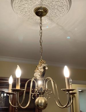 brass chandelier for Sale in Franklin Square, NY
