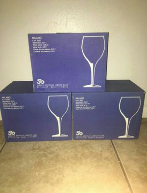 Milano Wine Glasses New In Box for Sale in Phoenix, AZ