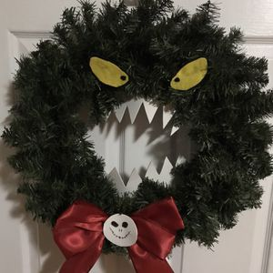 Nightmare Before Christmas Wreath for Sale in Newport, KY