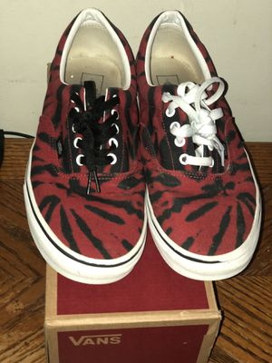 Vans Era Black and Red Tye Dye for Sale in Providence, RI