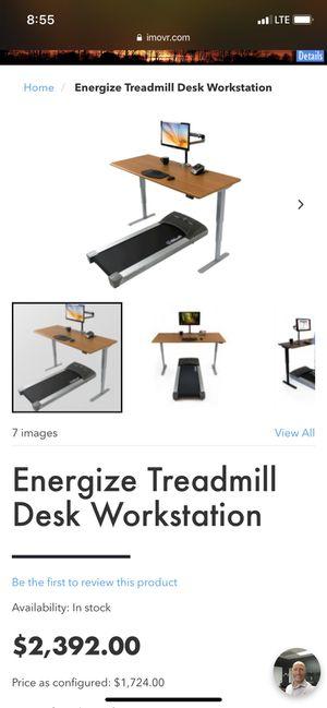 Motorized Adjustable Standing Treadmill Desk for Sale in Scottsdale, AZ